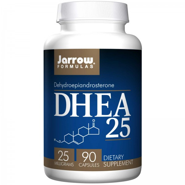 DHEA 25 mg 90 Caps Jarrow Formules – Afbeelding 1