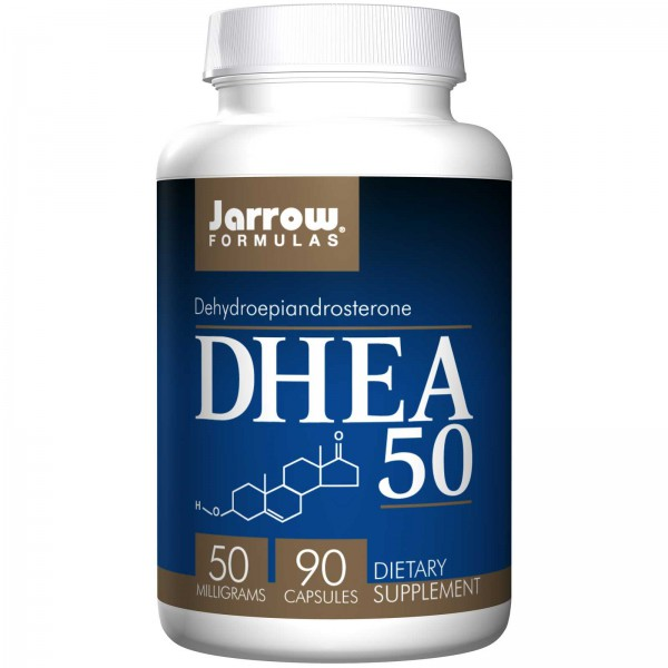 Jarrow Formules – 50mg DHEA – 90 Capsules – Afbeelding 1